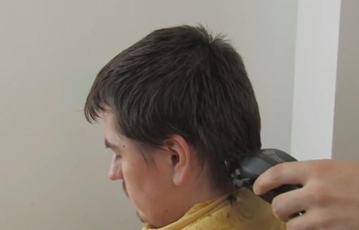 Cortar el pelo con máquina
